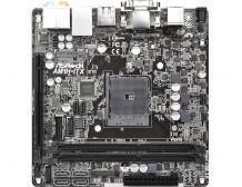 ASRock AM1H-ITX, AMD AM1, DualDDR3-1600, 4x SATA3, HDMI, DVI, DP, mITX