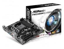 ASRock FM2A88M EXTREME4+ R2.0, A88X, DualDDR3-2133, SATA3, HDMI, DVI, D-Sub,mATX