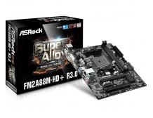 ASRock FM2A88M-HD+ R3.0, A88X, DualDDR3-2133, SATA3, RAID, HDMI, DVI, D-Sub mATX