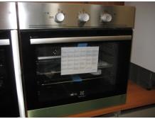 Įmontuojama dujinė orkaitė Electrolux EOG2102AOX