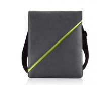BONE PAG FOR IPAD/IPAD 2 GREY/GREEN