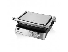 ETA Electric contact grill ETA515590000 Party Chef Table top, Electric Grill, 2000 W, Stainless steel