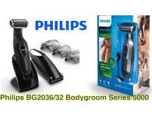 PHILIPS BG2036/32 Bodygroom series 5000 Vandeniui atsparus kūno skustuvas
