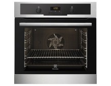 Electrolux EEA4545POX Black, Stainless ste, Buttons, Rotary, Height 59.4 cm, Width 59.4 cm
